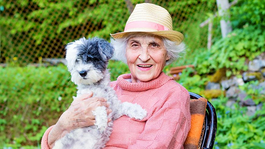 Activité avec chiens visiteurs en Maison de Repos – Bouillon