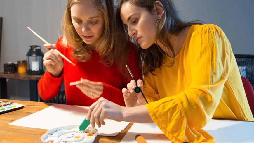 Atelier créatif en duo
